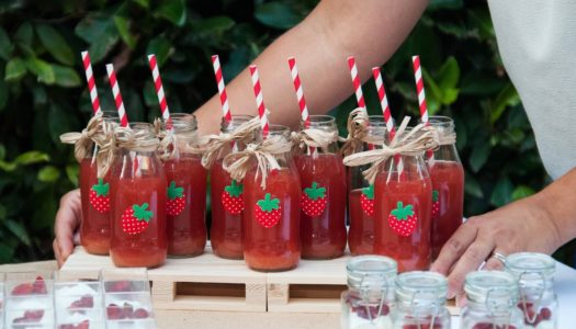 """Compleanno a tema """"Fragole"""""""